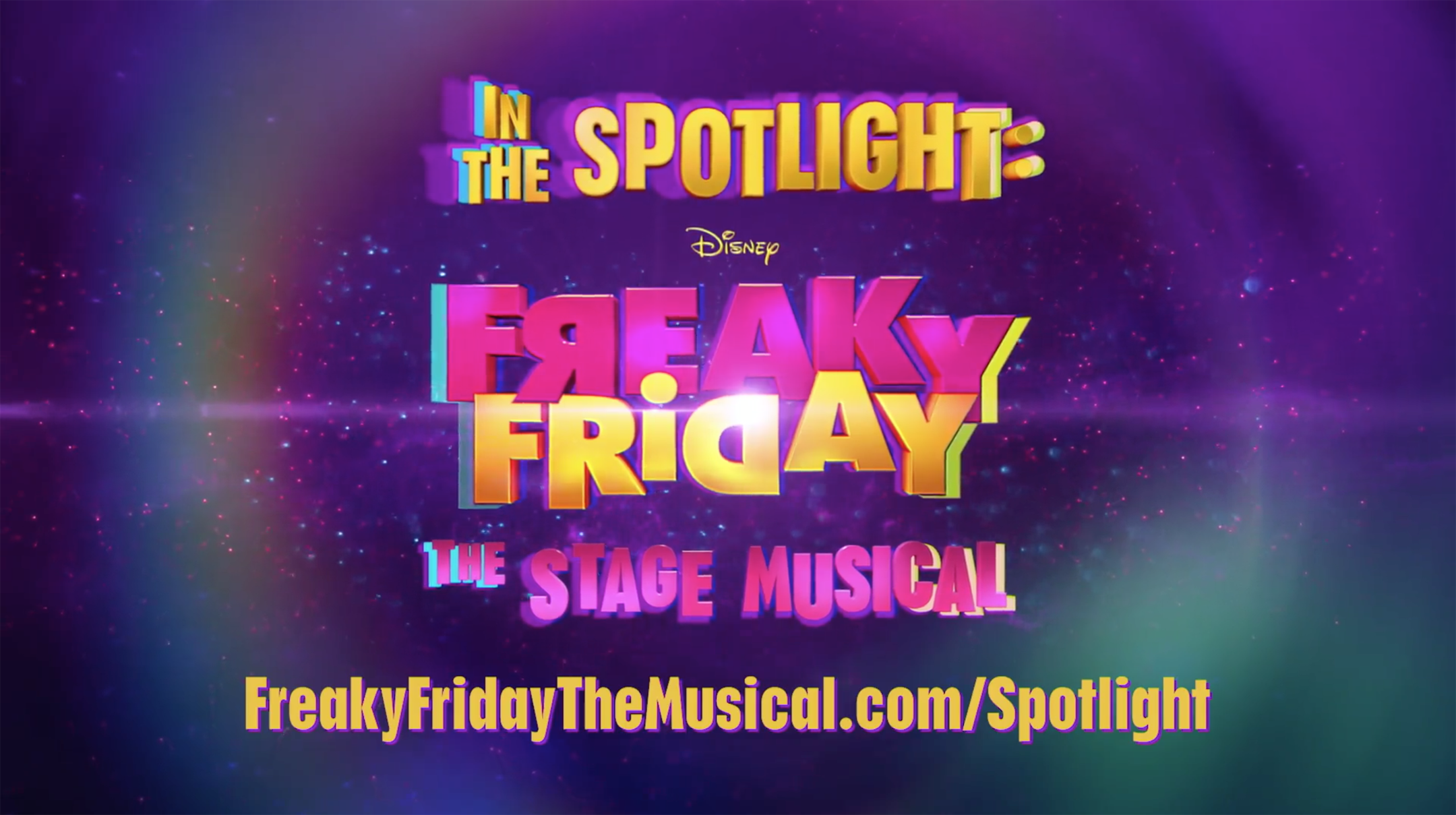 In The Spotlight: Disney FREAKY FRIDAY The Stage Musical